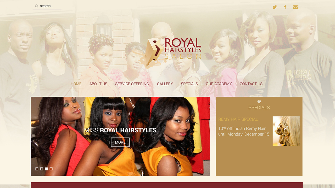 Royal Hairstyles Salon